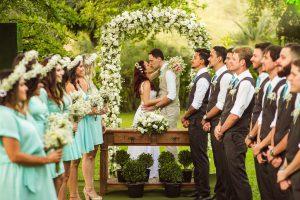 mariage en pleine nature