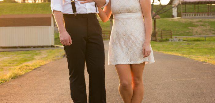 tenue de mariage décontractée